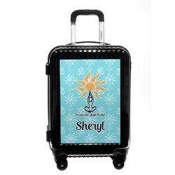 Sundance Yoga Studio Carry On Hard Shell Suitcase (Personalized)
