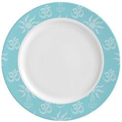 Sundance Yoga Studio Ceramic Dinner Plates (Set of 4) (Personalized)