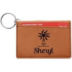 Sundance Yoga Studio Leatherette Keychain ID Holder (Personalized)