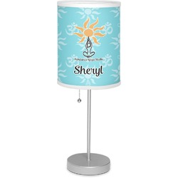 "Sundance Yoga Studio 7"" Drum Lamp with Shade (Personalized)"