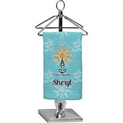 Sundance Yoga Studio Finger Tip Towel - Full Print (Personalized)