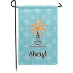 Sundance Yoga Studio Single Sided Garden Flag (Personalized)