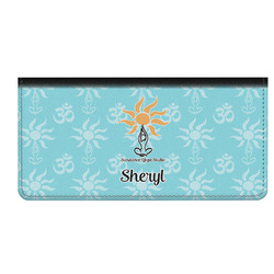 Sundance Yoga Studio Genuine Leather Checkbook Cover (Personalized)