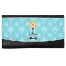 Sundance Yoga Studio Genuine Leather Ladies Wallet (Personalized)