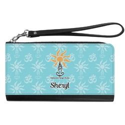 Sundance Yoga Studio Genuine Leather Smartphone Wrist Wallet (Personalized)