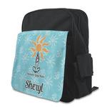 Sundance Yoga Studio Kid's Backpack with Customizable Flap (Personalized)
