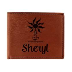 Sundance Yoga Studio Leatherette Bifold Wallet (Personalized)