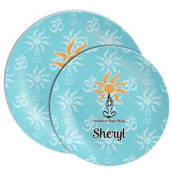 Sundance Yoga Studio Melamine Plate (Personalized)