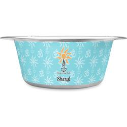 Sundance Yoga Studio Stainless Steel Dog Bowl (Personalized)