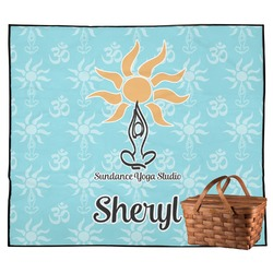 Sundance Yoga Studio Outdoor Picnic Blanket (Personalized)