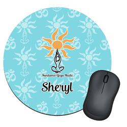 Sundance Yoga Studio Round Mouse Pad (Personalized)