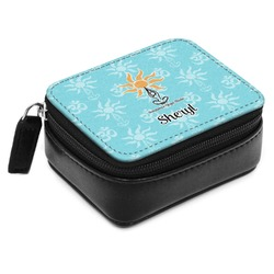 Sundance Yoga Studio Small Leatherette Travel Pill Case (Personalized)