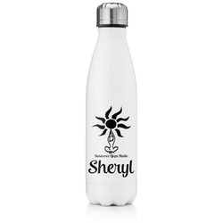 Sundance Yoga Studio Tapered Water Bottle - 17 oz. - Stainless Steel (Personalized)
