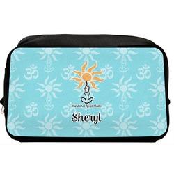 Sundance Yoga Studio Toiletry Bag / Dopp Kit (Personalized)