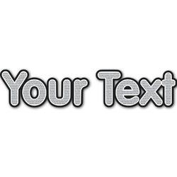 Sundance Yoga Studio Name/Text Decal - Custom Sizes (Personalized)