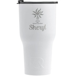 Sundance Yoga Studio RTIC Tumbler - White - Engraved Front (Personalized)
