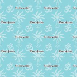 Sundance Yoga Studio Wrapping Paper (Personalized)