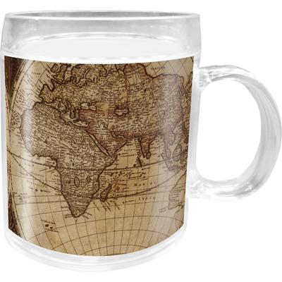 Vintage World Map Acrylic Kids Mug