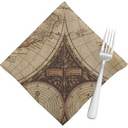 Vintage World Map Napkins (Set of 4)