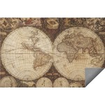 Vintage World Map Indoor / Outdoor Rug