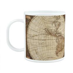 Vintage World Map Plastic Kids Mug