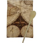 Vintage World Map Kitchen Towel - Full Print