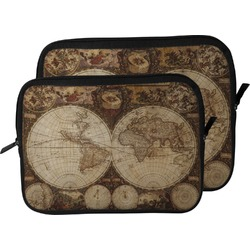Vintage World Map Laptop Sleeve / Case