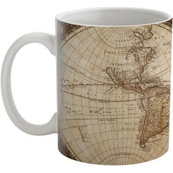 Vintage World Map Coffee Mug