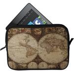 Vintage World Map Tablet Case / Sleeve