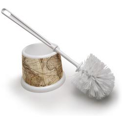 Vintage World Map Toilet Brush