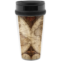 Vintage world map design 585 products available youcustomizeit vintage world map travel mug gumiabroncs Image collections