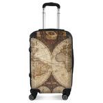 Vintage World Map Suitcase