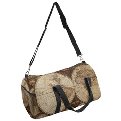 Vintage World Map Duffel Bag
