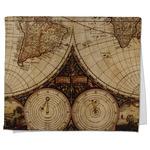 Vintage World Map Kitchen Towel - Full Print