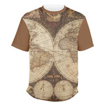 Vintage World Map Men's Crew T-Shirt