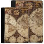 Vintage World Map Notebook Padfolio