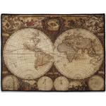 Vintage World Map Door Mat