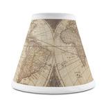 Vintage World Map Chandelier Lamp Shade