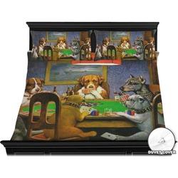 Dogs Playing Poker 1903 C.M.Coolidge Duvet Cover Set - King