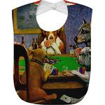 Dogs Playing Poker 1903 C.M.Coolidge Baby Bib