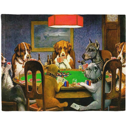 Dogs Playing Poker 1903 C.M.Coolidge Placemat (Fabric)