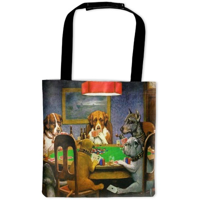 Dogs Playing Poker 1903 C.M.Coolidge Auto Back Seat Organizer Bag