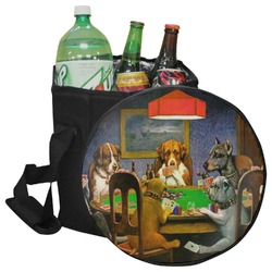 Dogs Playing Poker 1903 C.M.Coolidge Collapsible Cooler & Seat