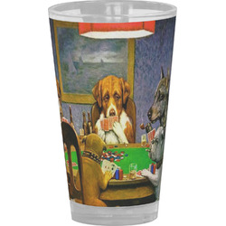 Dogs Playing Poker 1903 C.M.Coolidge Drinking / Pint Glass