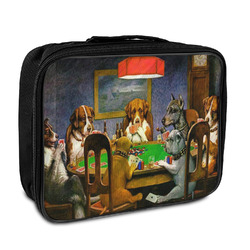 Dogs Playing Poker 1903 C.M.Coolidge Insulated Lunch Bag