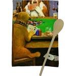 Dogs Playing Poker 1903 C.M.Coolidge Kitchen Towel - Full Print