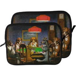 Dogs Playing Poker 1903 C.M.Coolidge Laptop Sleeve / Case