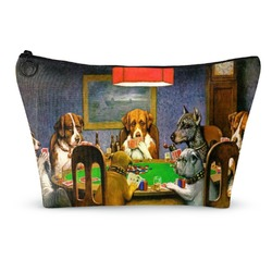 Dogs Playing Poker 1903 C.M.Coolidge Makeup Bags