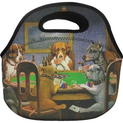 Dogs Playing Poker 1903 C.M.Coolidge Lunch Bag