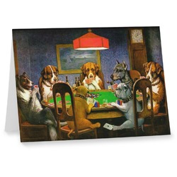 Dogs Playing Poker 1903 C.M.Coolidge Notecards